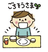 今日の給食です。